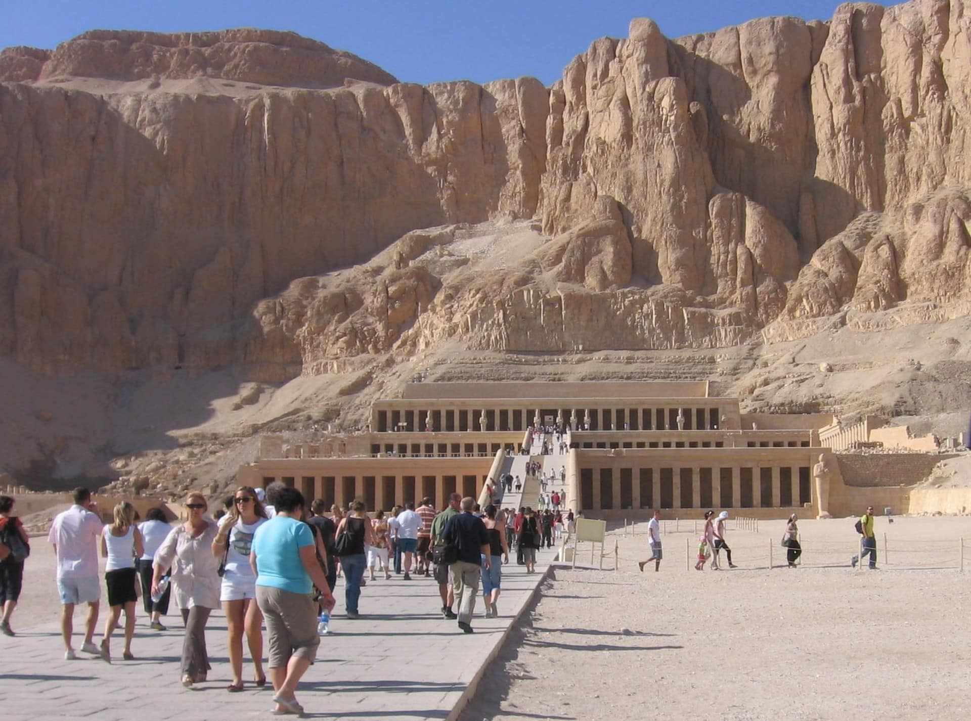Rock temple of Hatshepsut